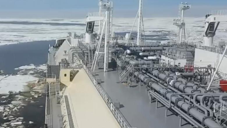 nava oceanul arctic