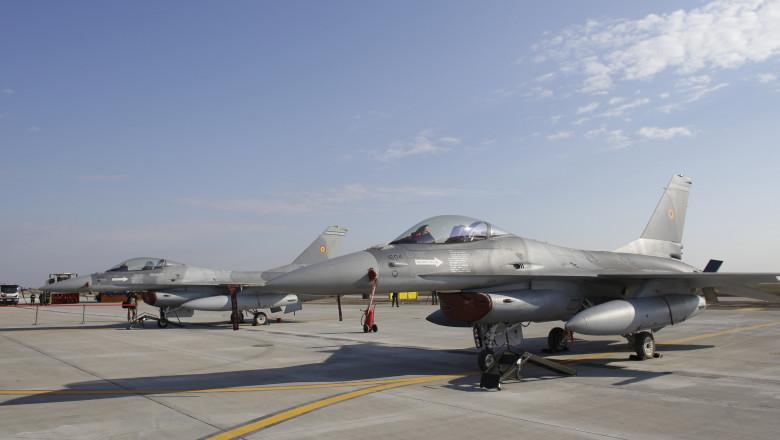 avioane F 16 românești