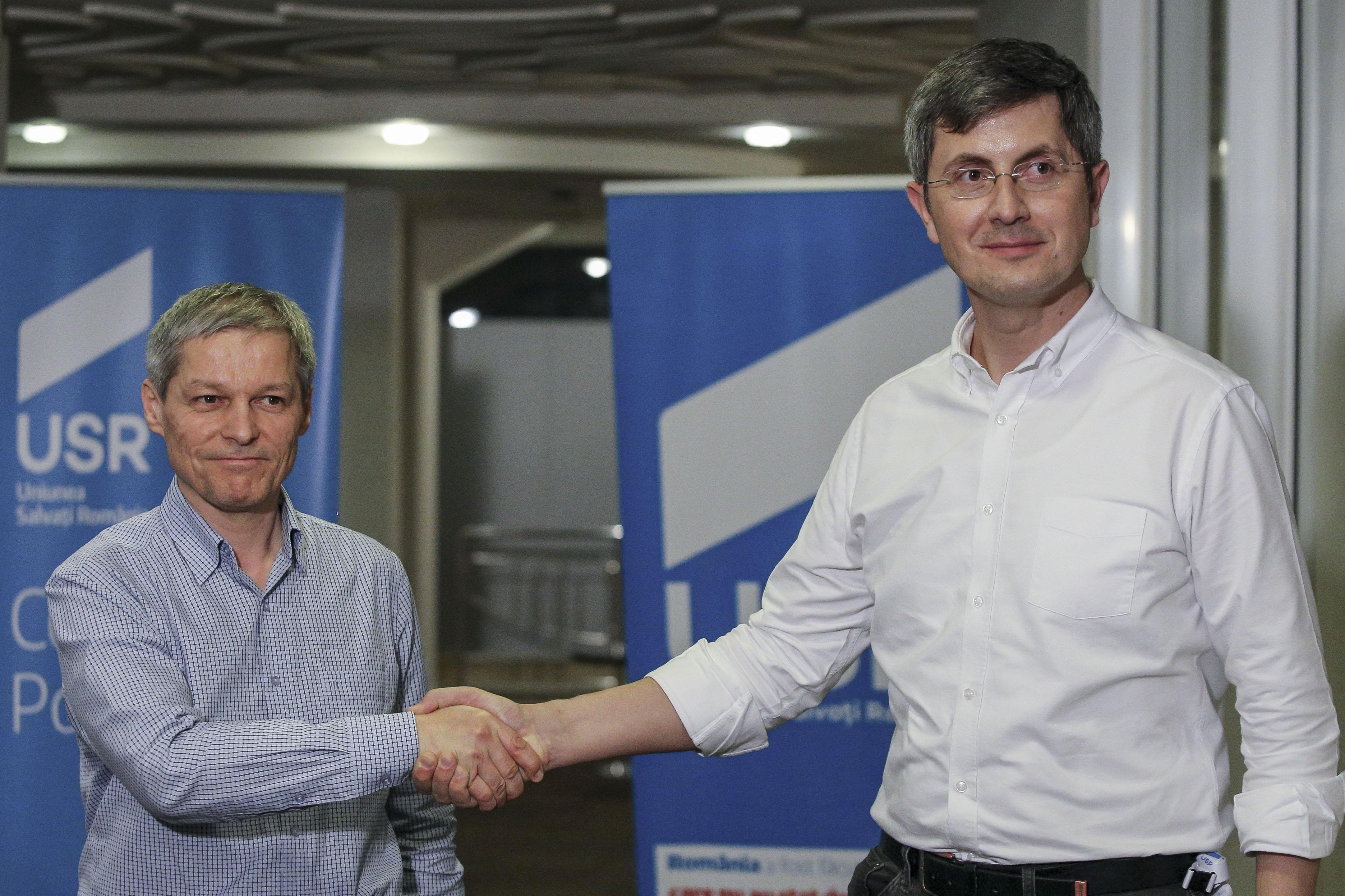 """Barna si Ciolos, despre informatia ca ar exista tensiuni in USR-PLUS: """"Pe alocuri discutiile sunt mai aprige"""""""