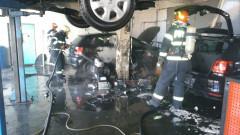 incendiu atelier SM4