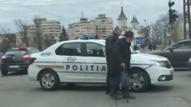 batran trecere politist