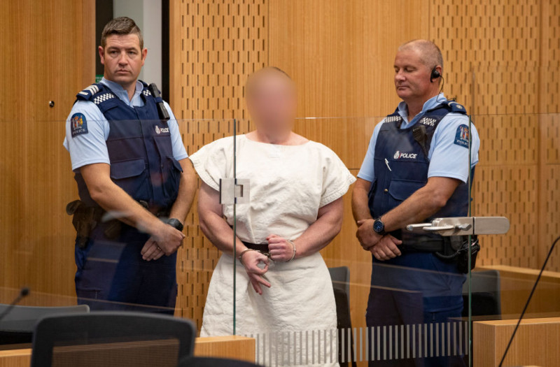 Alleged Christchurch Massacre Brenton Tarrant Appears In Court