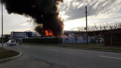 incendiu Borsului depozit