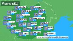 Prognoza meteo pentru luni, 11 martie. Azi, anormal de cald, marți cu 10 grade mai puțin