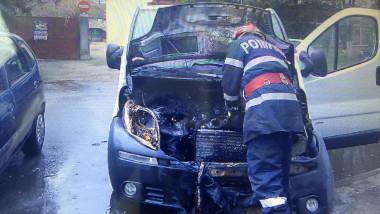 incendiu auto Beiuș 1