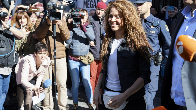 Shakira Attends Court For Plagiarising The Song 'La Bicicleta'