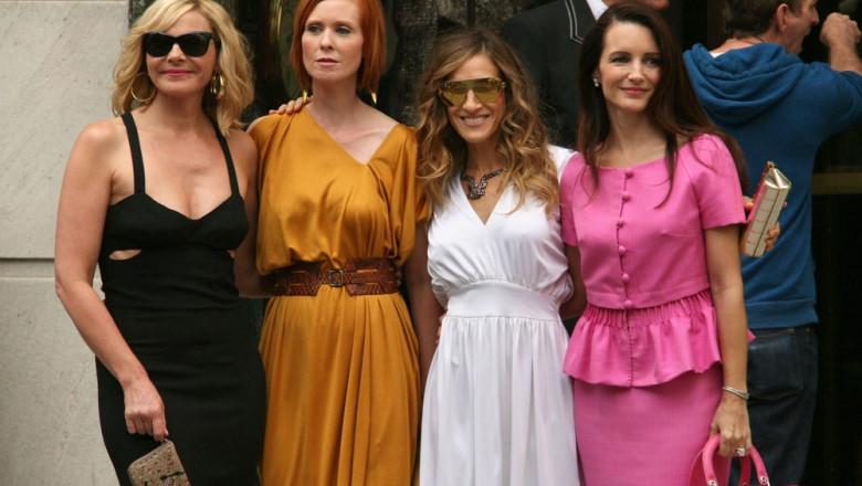 Kim Cattrall, Cynthia Nixon, Sarah Jessica Parker, Kristin Davis, sex and the city, totul despre sex