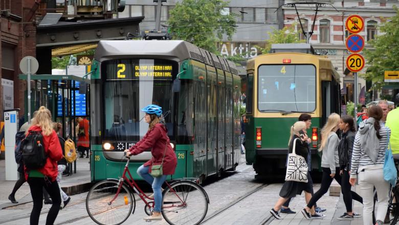 finlanda helsinki tramvai