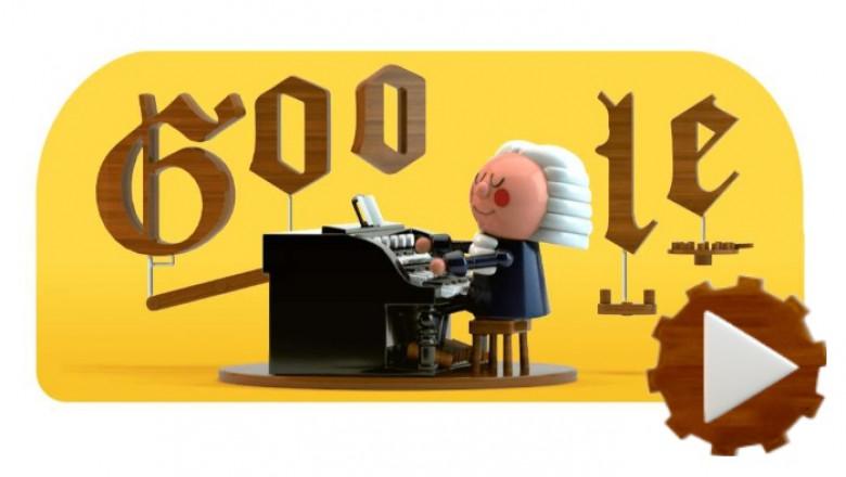 google doodle pentru bach