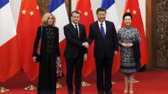 French President Emmanuel Macron Begins State Visit To China