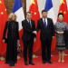 French President Emmanuel Macron Begins State Visit To China