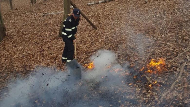 pompier-incendiu-padure-isu-caras-severin