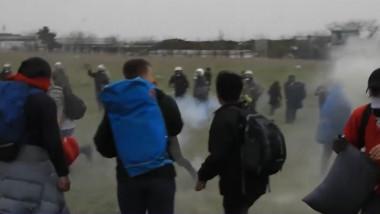 grecia imigranti politie
