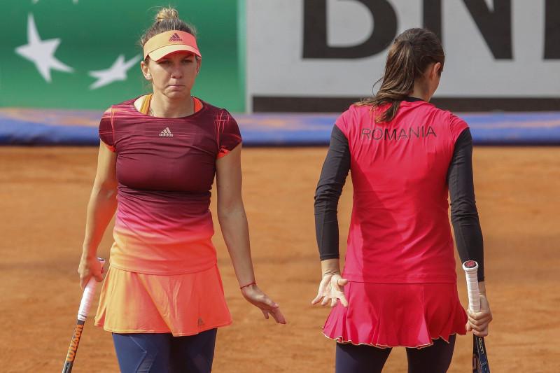LIVE BLOG. România - Franța, în semifinalele Fed Cup 2019 - 4