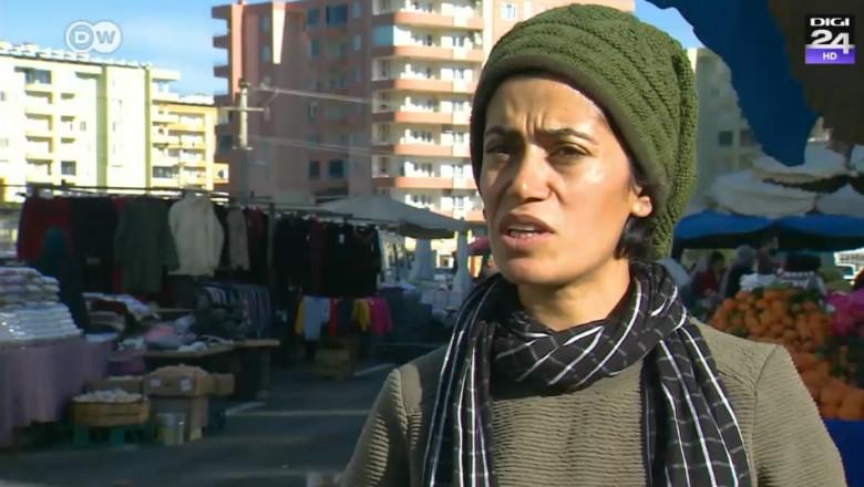 femeie turcia piata