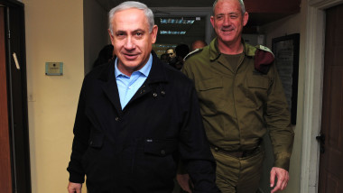 Netanyahu Visits IDF central command base
