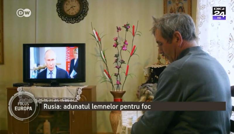 rus putin televizor pisica