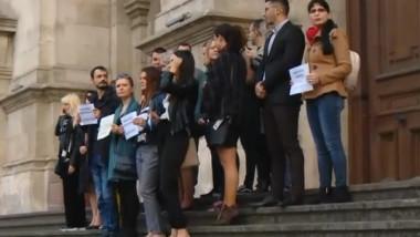 magistrati protest
