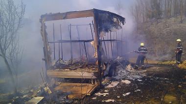 incendiu Dobrești - Secția Beiuș