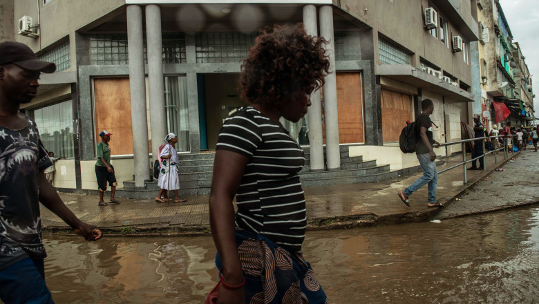 Mozambique Copes With Aftermath Of Cyclone Idai