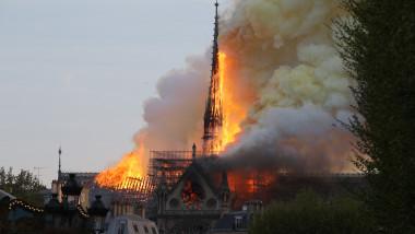 incendiu la catedrala notre dame
