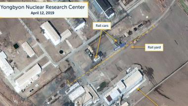 reactor nuclear coreea de nord