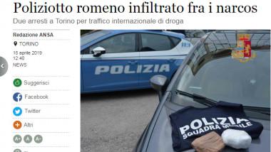 politist roman italia
