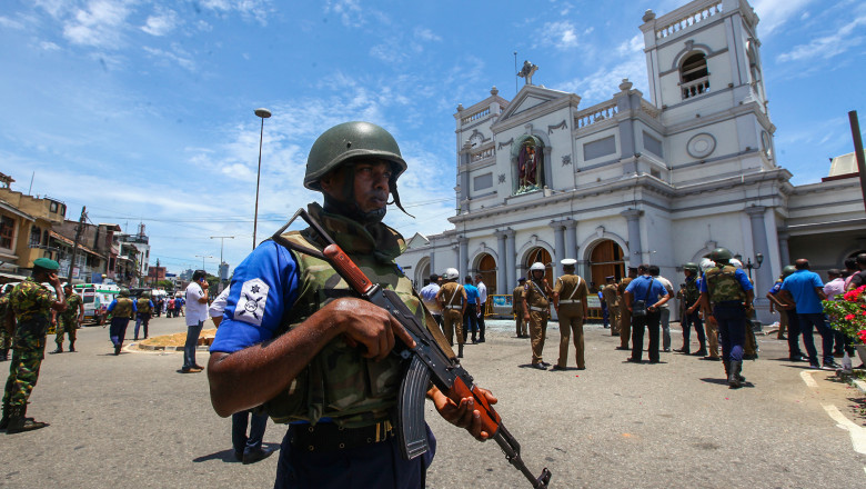 Multiple Explosions Hit Sri Lanka On Easter Sunday