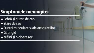 simptomele meningitei