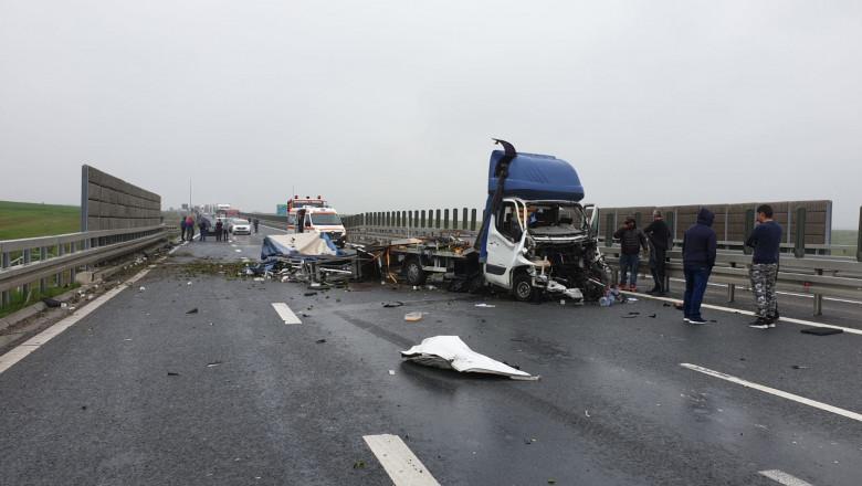 accident A1 Timisoara sursa ISU Timis 3 280419