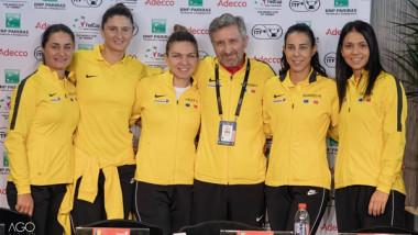 fed cup romania franta 2019, Mihaela Buzărnescu, Irina Begu, Monica Niculescu, Raluca Olaru, Florin Segărceanu