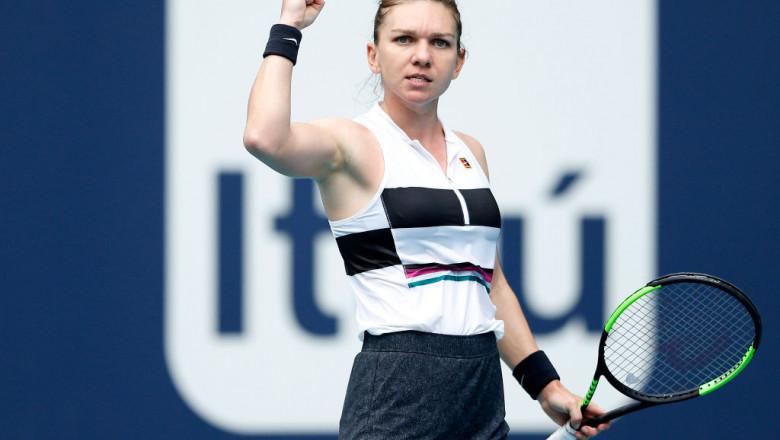LIVE TEXT. Simona Halep - Kristina Mladenovic, în semifinala Fed Cup 2019