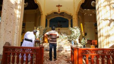 biserica st sebastian din sri lanka, lovita de un atentat sangeros in duminica zilei de paste