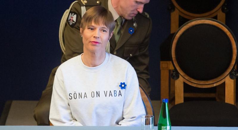 presedinta estoniei bluzon investire guvern