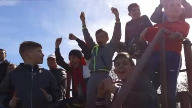 copii fotbal tara bucurie