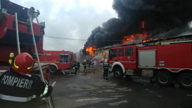 incendiu afumati Foto ISU