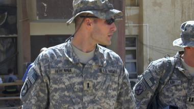 michael behenna militar american gratiat de trump foto agerpres