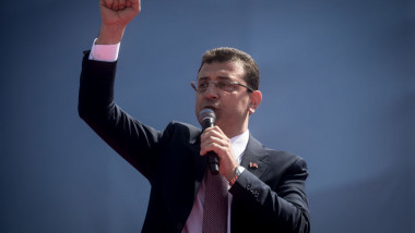 New Mayor Of Istanbul Ekrem Imamoglu Holds Victory Rally