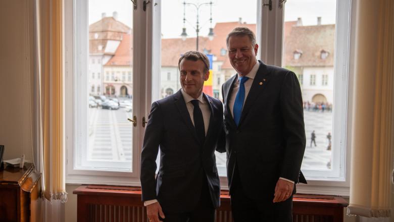 klaus-iohannis-emmanuel-macron-birou-primar-sibiu-presidency (3)