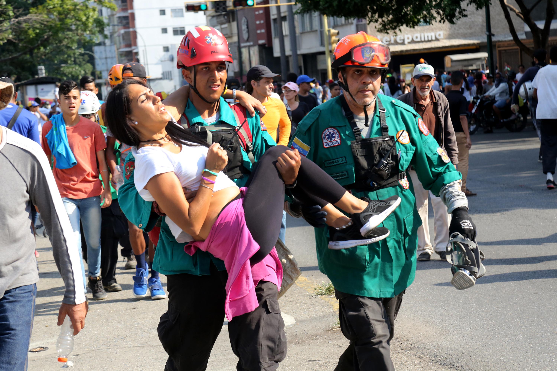 Noi violențe în Venezuela. Schimb de replici între Mike Pompeo și Serghei Lavrov