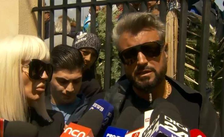 Răzvan Ciobanu a fost înmormântat. Cătălin Botezatu: Rugăm pe toată lumea să respecte durerea celor care l-au iubit