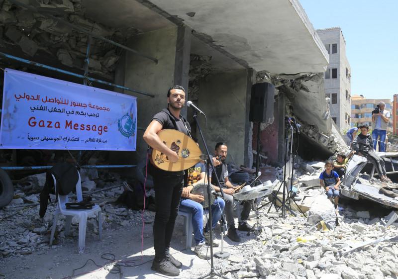 protest eurovision 2019 fasia gaza israel palestina
