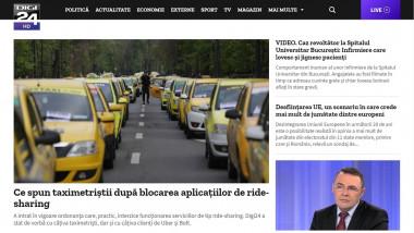 Homepage www.digi24.ro