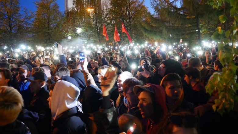manifestatii ekaterinburg