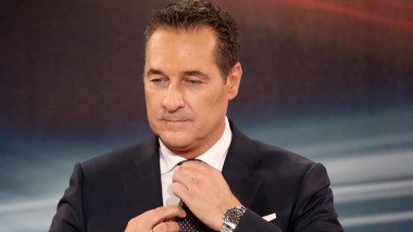 heinz christian strache GettyImages-861643346