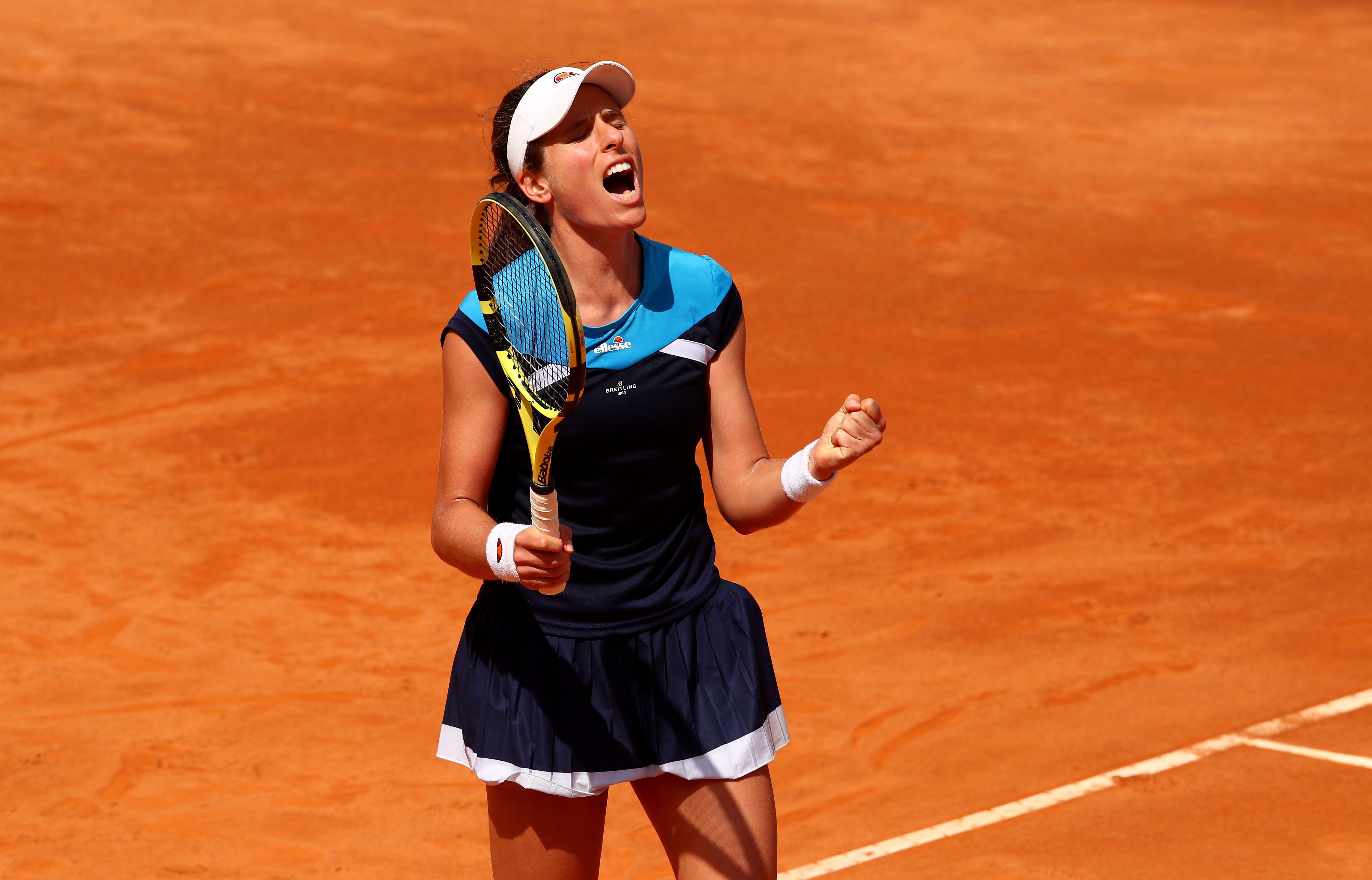 Johanna Konta - Karolina Pliskova, in finala turneului de la Roma