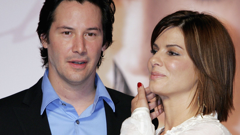 "Keanu Reeves And Sandra Bullock Promote ""The Lake House"""