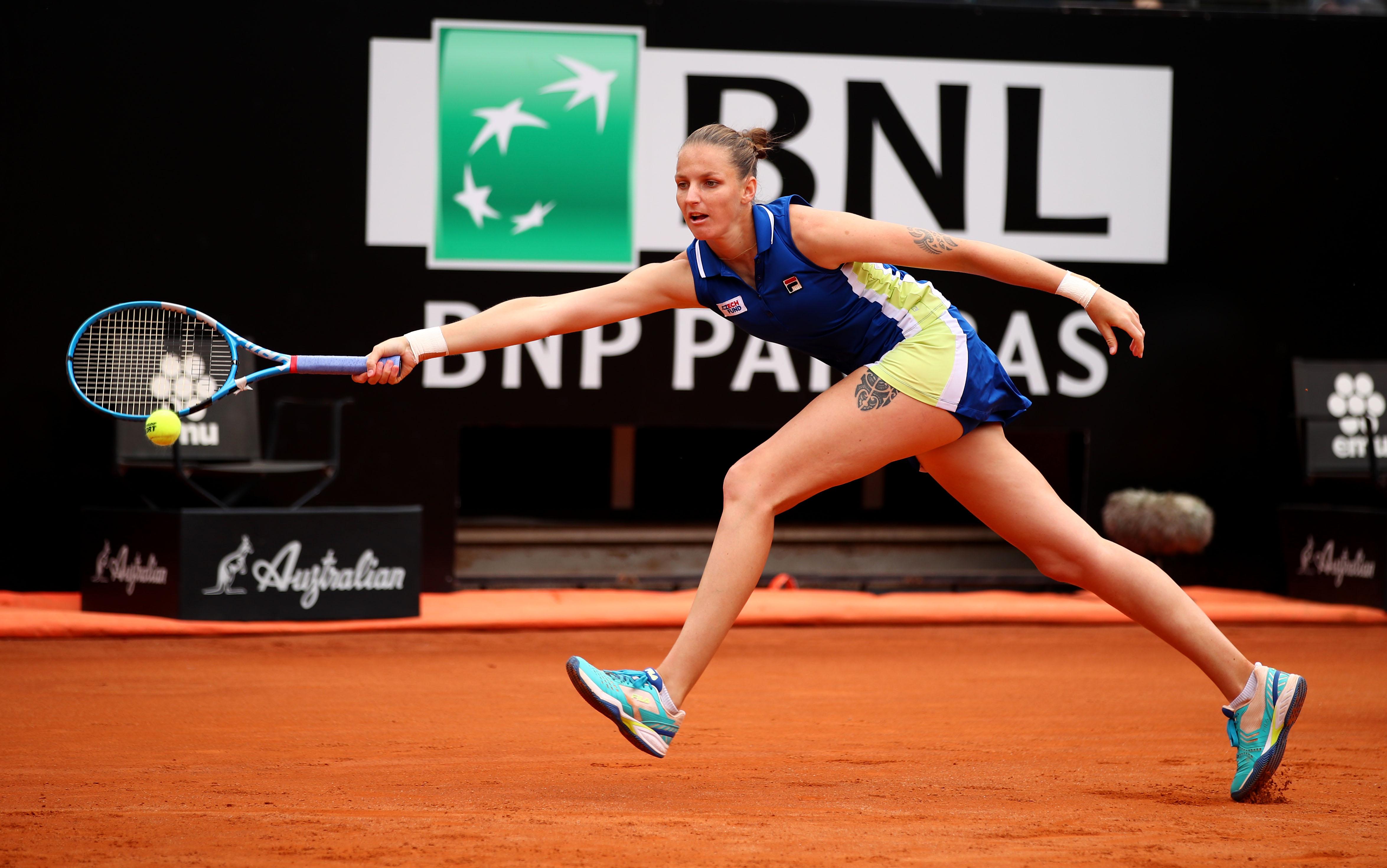 Karolina Pliskova a caştigat turneul de la Roma si o depaseste pe Simona Halep in clasamentul WTA