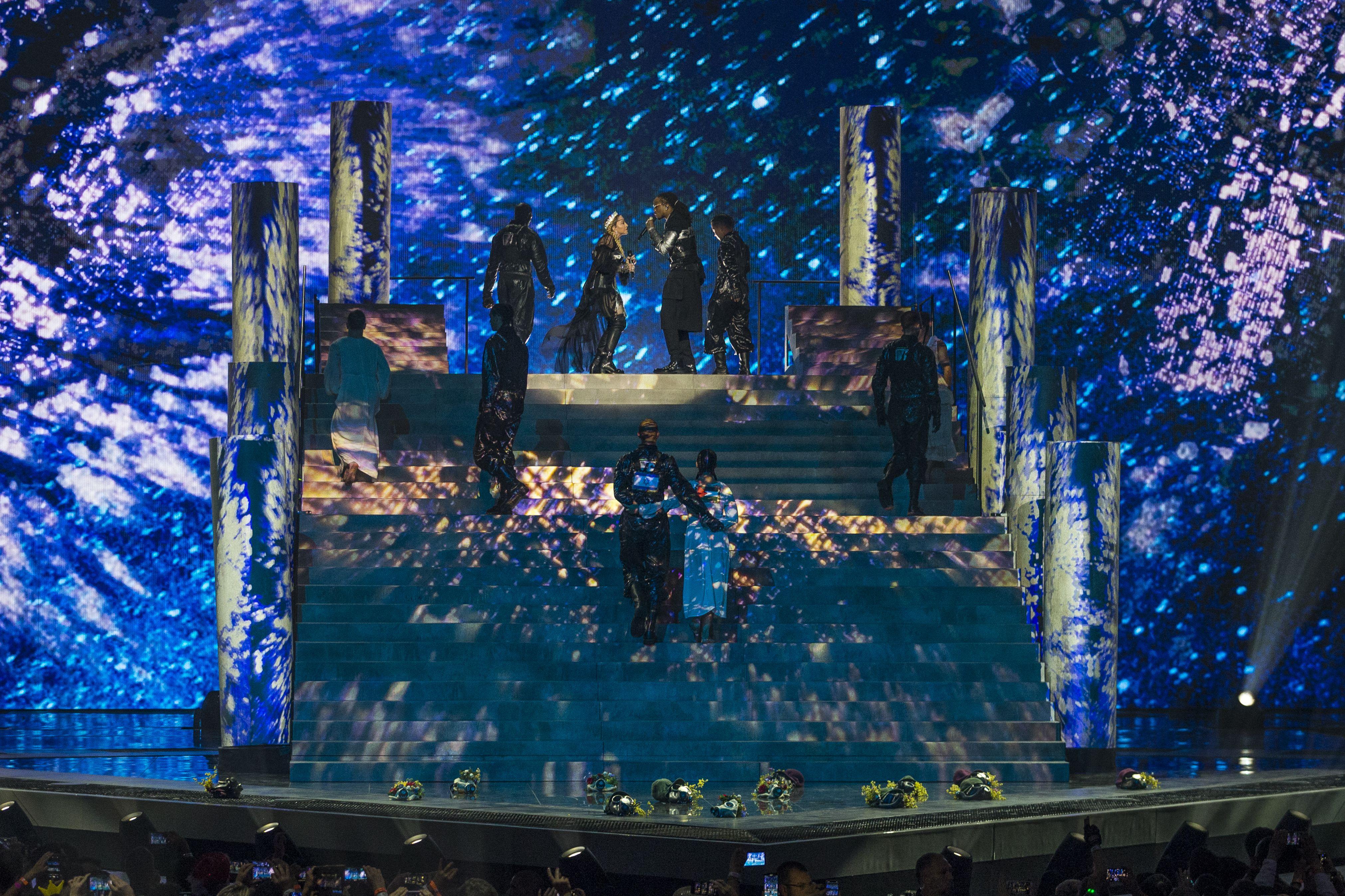 Moment controversat la Eurovision. Gest de sfidare la adresa Israelului