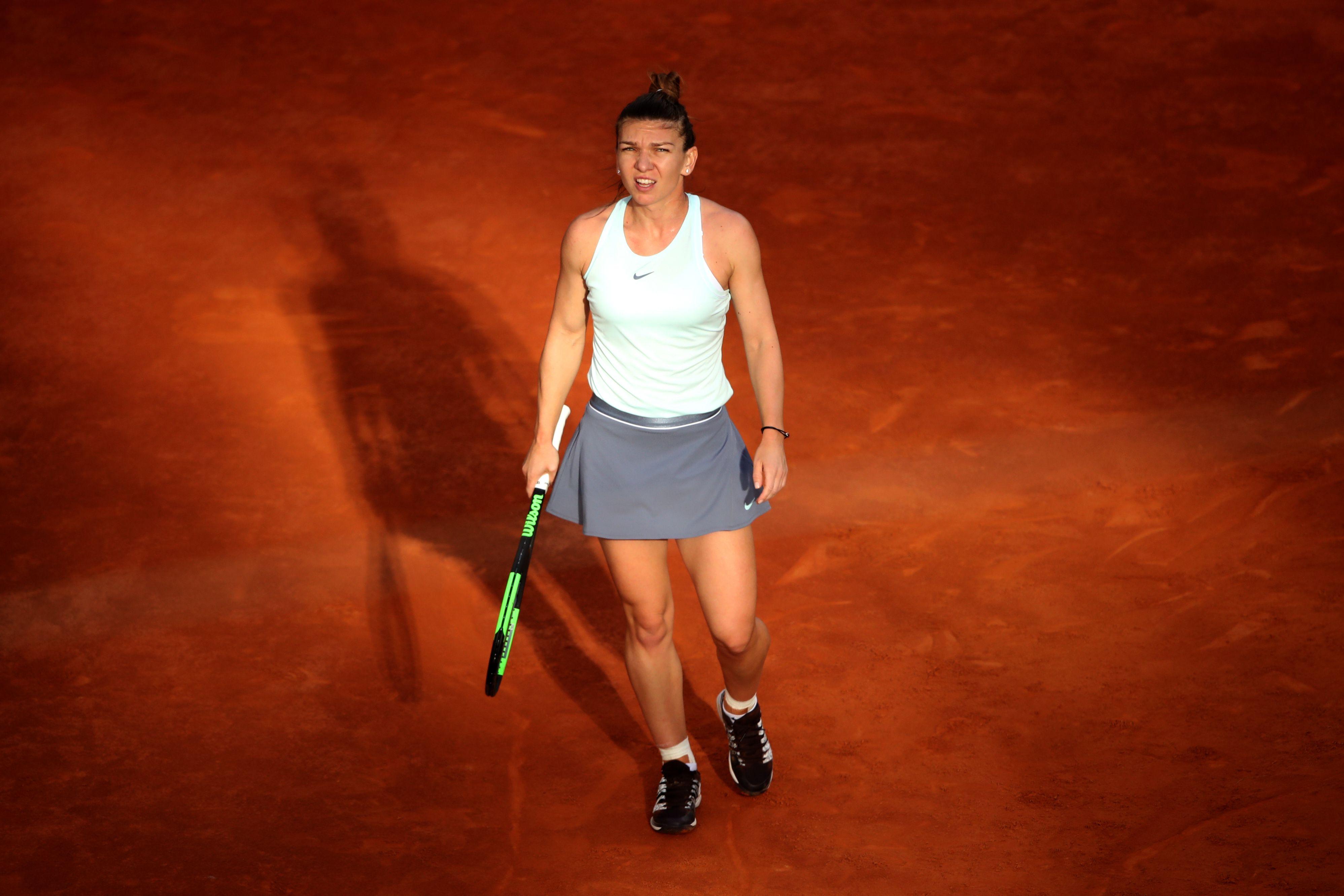 Simona Halep: Nu am nicio problema grava la picior. Merg cu incredere la Roland Garros